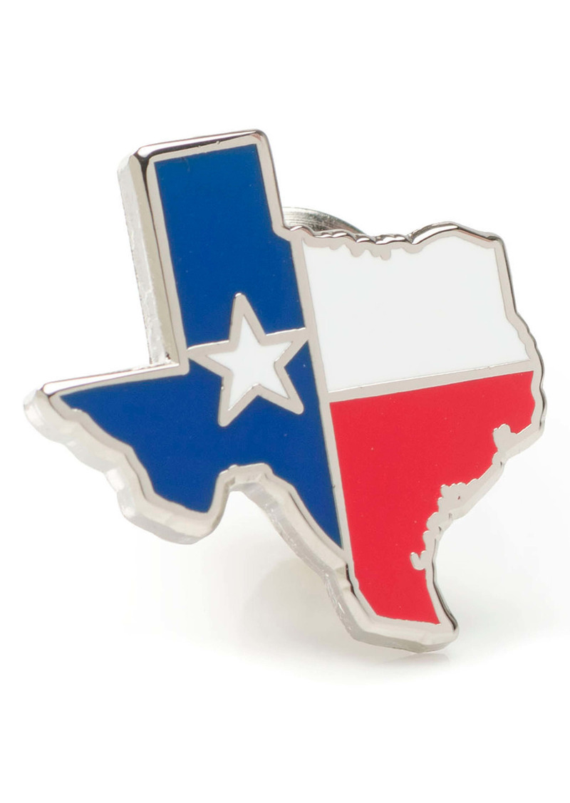 Cufflinks Inc. Cufflinks, Inc. Texas Flag Lapel Pin