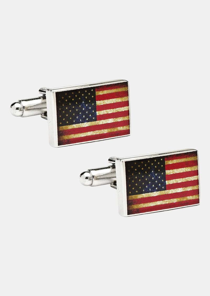 Cufflinks Inc. Cufflinks, Inc. 'USA Flag' Cuff Links
