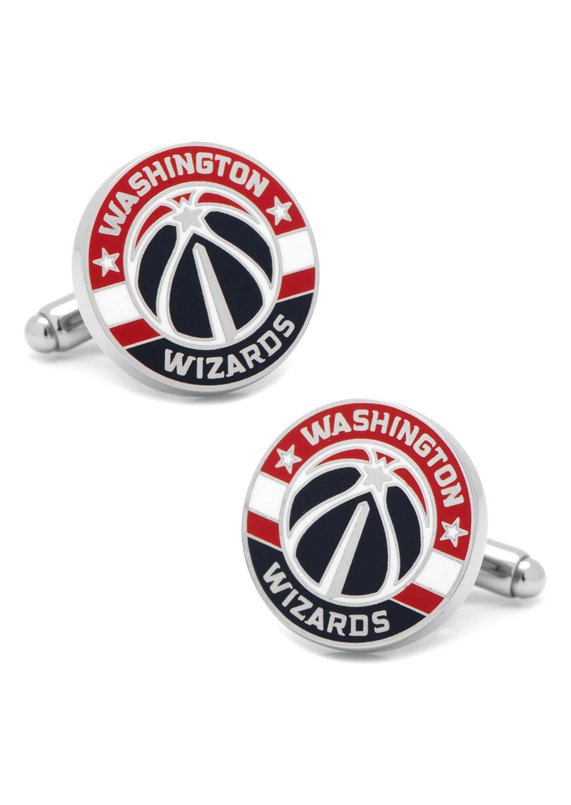 Cufflinks Inc. Cufflinks, Inc. 'Washington Wizards' Cuff Links