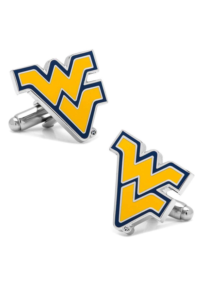 Cufflinks Inc. Cufflinks, Inc. 'West Virginia Mountaineers' Cuff Links