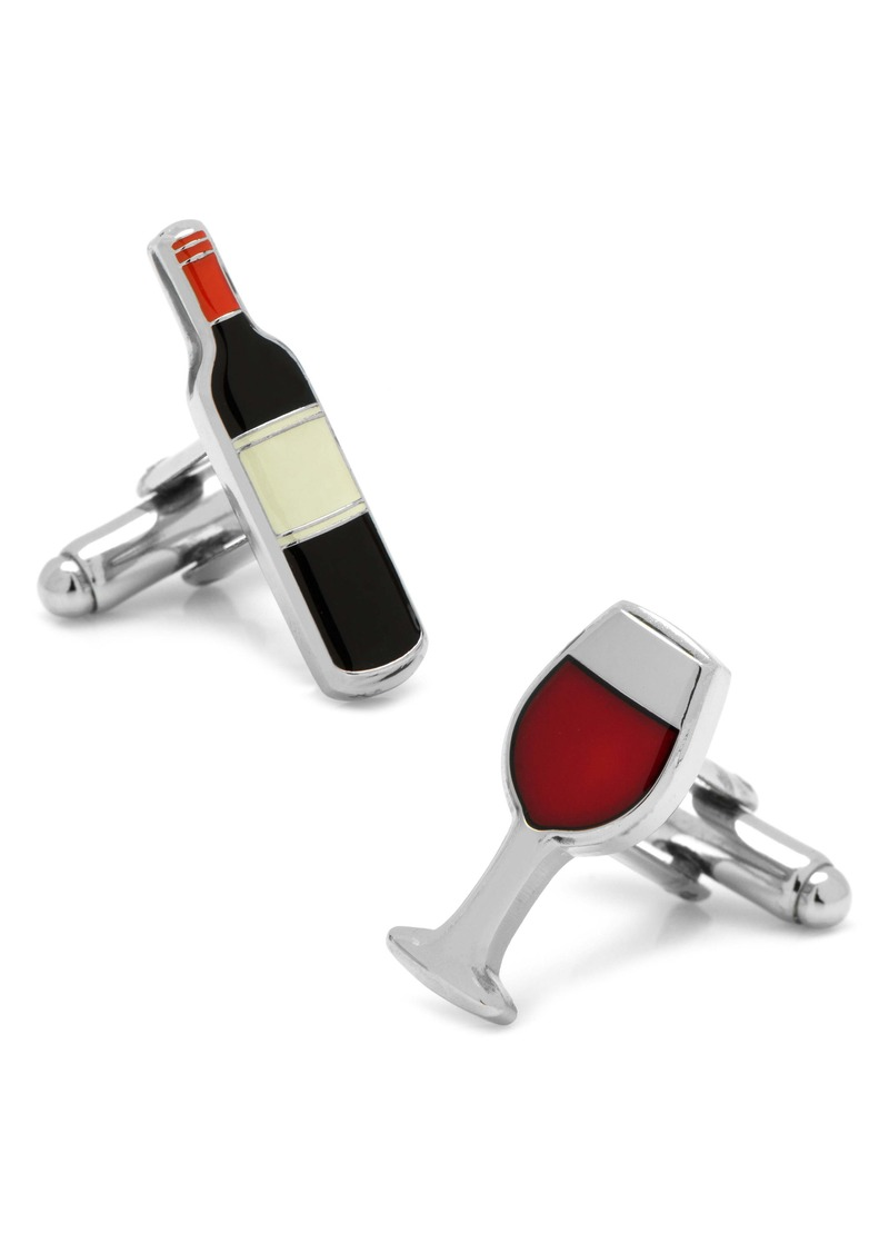 Cufflinks Inc. Cufflinks, Inc. Wine & Bottle Cuff Links