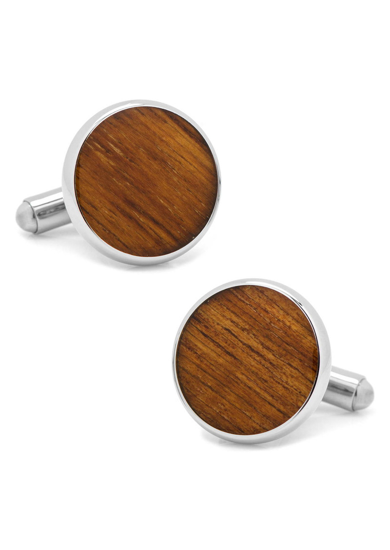 Cufflinks Inc. Cufflinks, Inc. Wood Inlay Cuff Links