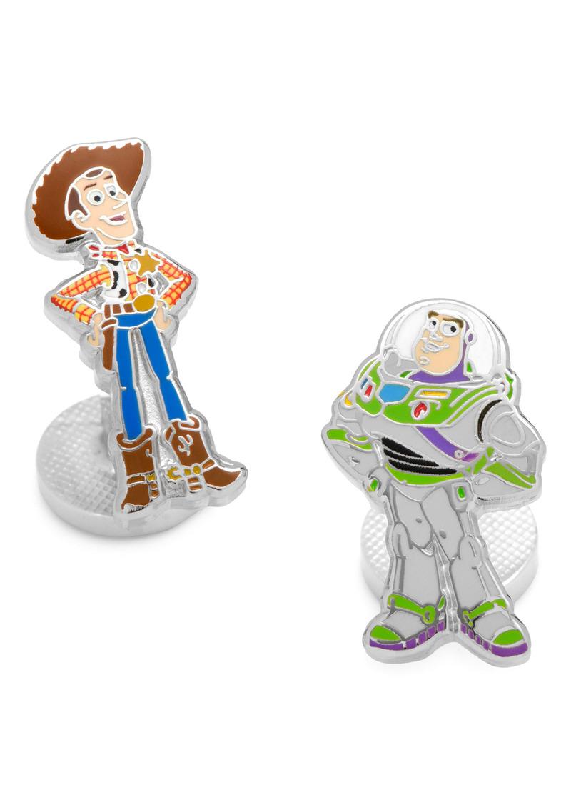 Cufflinks Inc. Cufflinks, Inc. Woody & Buzz Lightyear Mismatched Cuff Links