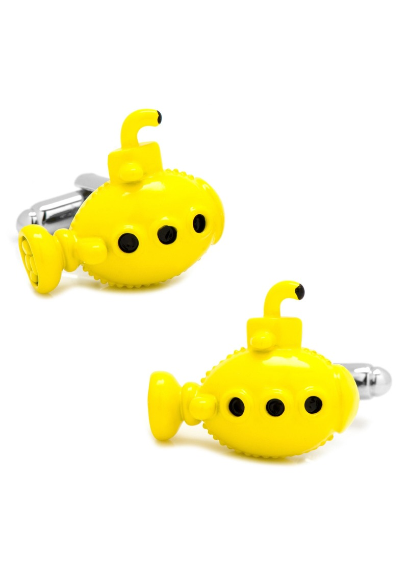 Cufflinks Inc. Cufflinks, Inc. Yellow Submarine Cuff Links