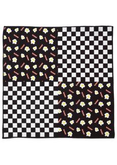 Cufflinks Inc. Men's Bacon Eggs Pocket Square
