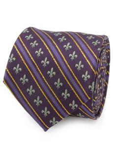 Cufflinks Inc. Men's Mardi Gras Stripe Tie
