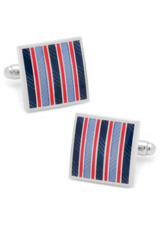 Cufflinks Inc. Striped Square Cufflinks