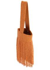 Cult Gaia Farah Beaded Wristlet Bag