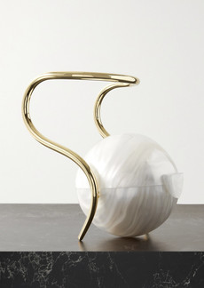 Cult Gaia Pearl Acrylic And Gold-tone Tote