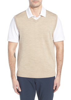 Cutter & Buck 'Douglas' Merino Wool Blend V-Neck Sweater Vest (Online Only)