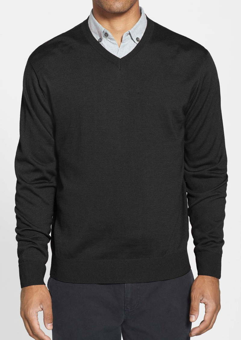 Cutter & Buck Douglas V-Neck Sweater (Big & Tall)