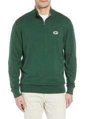 Cutter & Buck Green Bay Packers - Lakemont Regular Fit Quarter Zip Sweater