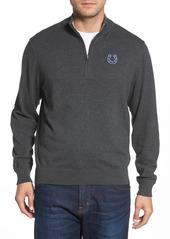 Cutter & Buck Indianapolis Colts - Lakemont Regular Fit Quarter Zip Sweater