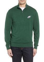 Cutter & Buck Philadelphia Eagles - Lakemont Regular Fit Quarter Zip Sweater