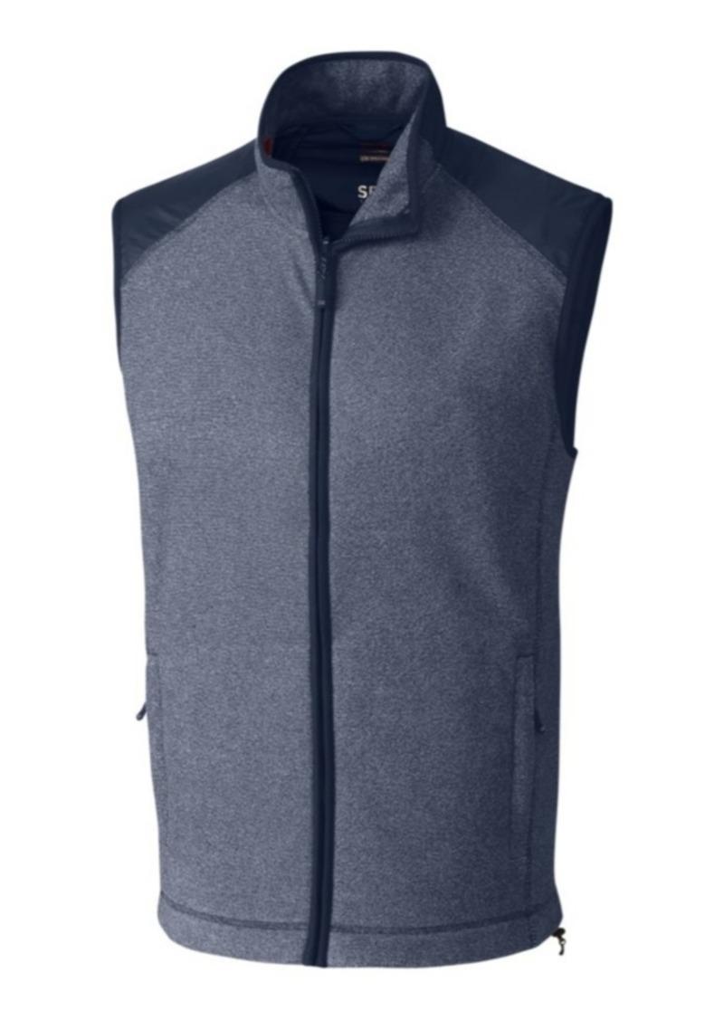 Cutter & Buck Cutter and Buck Men's Big and Tall Cedar Park Full Zip Sweater Vest
