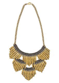 Deepa Gurnani Meadow Bib Necklace