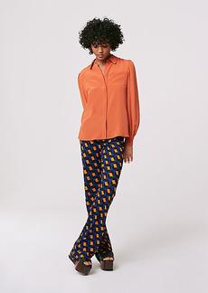 Diane Von Furstenberg Caspian Matte-Jersey Flare Pants