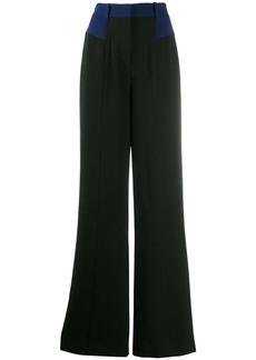 Diane Von Furstenberg crepe wide-leg trousers