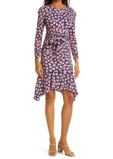 Diane Von Furstenberg DVF Sahara Long Sleeve Wrap Dress