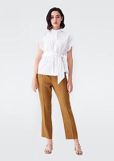 Diane Von Furstenberg Frederica Lyocell Tailored Pants