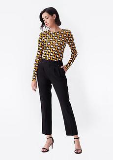 Diane Von Furstenberg Frederica Twill-Blend Tailored Pants