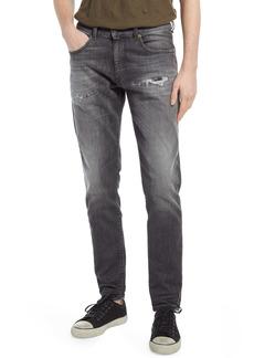 DIESEL® D-Strukt Ripped Slim Fit Jeans