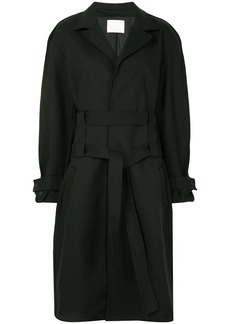 Dion Lee double belt trench coat