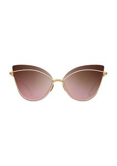 DITA Nightbird One 66MM Cat-Eye Sunglasses