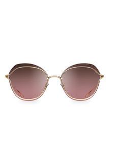 DITA Nightbird Two 58MM Round Sunglasses