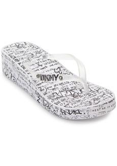 Dkny Women's Jazzi Thong Sandals