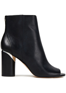 Dkny Woman Benson Leather Ankle Boots Black