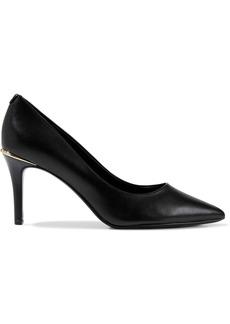 Dkny Woman Randi Leather Pumps Black