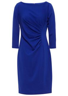 Dkny Woman Ruched Stretch-jersey Mini Dress Royal Blue