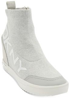 Dkny Women's Catelin Slip-On Wedge Sneakers