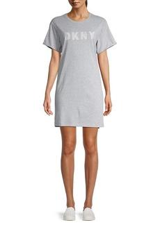 DKNY Track Logo T-Shirt Dress