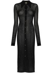 Dodo Bar Or June crochet buttoned dress