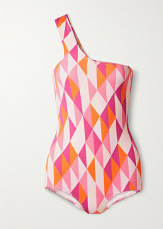 Dodo Bar Or Loe One-shoulder Printed Swimsuit