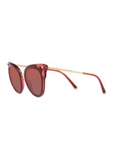 Dolce & Gabbana 51mm Cat Eye Sunglasses