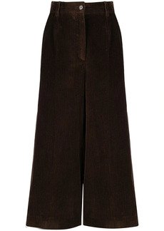 Dolce & Gabbana corduroy wide-leg culottes