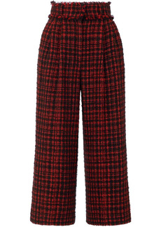 Dolce & Gabbana cropped tweed culottes