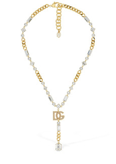 Dolce & Gabbana Dg Pastel Crystal Necklace
