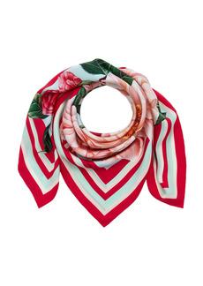 Dolce & Gabbana - Women's Floral Silk Foulard  - Floral - Moda Operandi