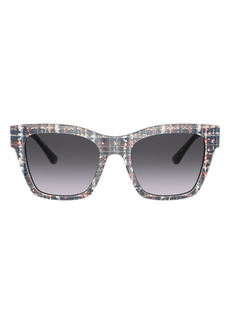 Dolce & Gabbana Dolce&Gabbana 53mm Gradient Cat Eye Sunglasses