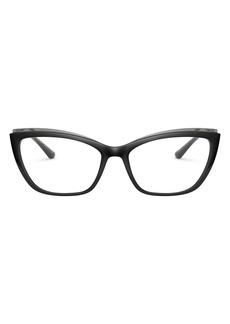 Dolce & Gabbana Dolce&Gabbana 56mm Cat Eye Optical Glasses