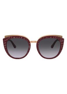 Dolce & Gabbana Dolce&Gabbana Butterfly 54mm Sunglasses