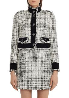 Dolce & Gabbana Dolce&Gabbana Crop Tweed Jacket