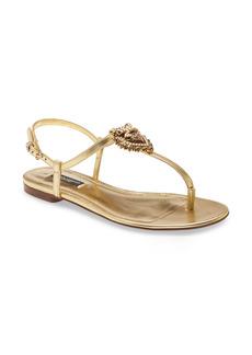 Dolce & Gabbana Dolce&Gabbana Devotion Sandal (Women)