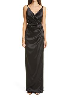 Dolce & Gabbana Dolce&Gabbana Drape Silk Gown