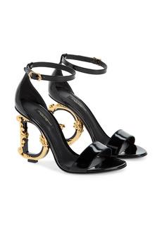Dolce & Gabbana Dolce&Gabbana Keira Baroque DG Heel Sandal (Women)
