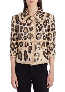 Dolce & Gabbana Dolce&Gabbana Leopard Spot Jacket
